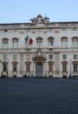 Constitutional Court of the Italian Republic Stock Photo
