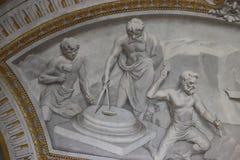 Palazzo della Consulta in Rome. The Constitutional Court of Italy in Palazzo della Consulta, is among the Quirinal Hill government buildings in Rome stock photo