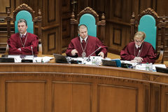 Constitutional Court of Ukraine Royalty Free Stock Photo