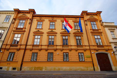 Constitutional Court, Zagreb, Croatia Stock Images