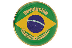 Constitutionalist Revolution in Brazil Royalty Free Stock Images