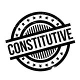 Constitutive rubber stamp Stock Images