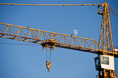 Constraction Crane Royalty Free Stock Images