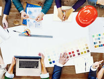 Free Constraction Design Team Meeting Brainstorming Planning Concept Royalty Free Stock Image - 54343936
