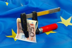 Constraints in the European Union Royalty Free Stock Photo