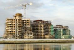 Construção 01 do porto Foto de Stock Royalty Free