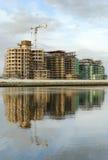 Construção 02 do porto Fotos de Stock Royalty Free