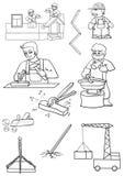 Construção ilustração royalty free