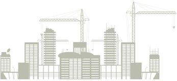 Construção ilustração stock