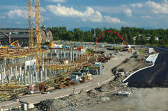 Construção Fotografia de Stock