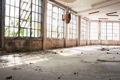 Construção abandonada Fotos de Stock Royalty Free