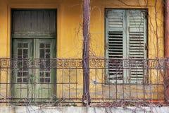 Construção abandonada Fotografia de Stock Royalty Free