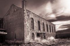 Construção abandonada Imagens de Stock