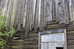 construção abandonada e inacabado velha foto de stock