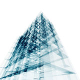 Construção abstrata Imagem de Stock Royalty Free