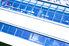 Construção abstrata do fundo Fotografia de Stock