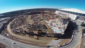Construção adiantada no estádio novo filme