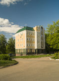 Construção administrativa na cidade Vyazniki, Rússia Fotografia de Stock