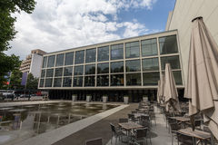 Construção alemão da ópera em Berlim Alemanha Foto de Stock