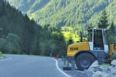 Construção alpina Imagens de Stock