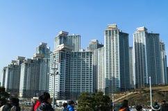 Construção alta Coreia do Sul Busan Imagem de Stock Royalty Free