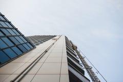 Construção alta da parte inferior à parte superior Imagens de Stock