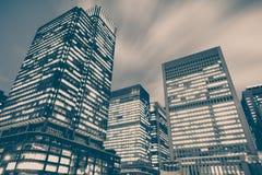Construção alta do escritório moderno Foto de Stock