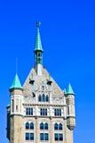 Pináculo gótico da construção Fotografia de Stock Royalty Free
