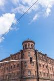 Construção antiga da penitenciária Foto de Stock Royalty Free