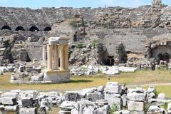 Construção antiga de Turquia imagens de stock