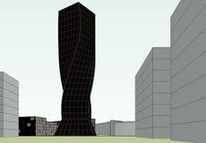 Construção arquitetónica Imagens de Stock