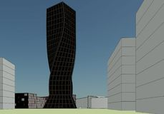 Construção arquitetónica ilustração royalty free