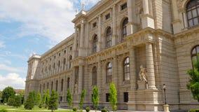 Construção arquitetónica do museu Viena, nenhum pessoa filme