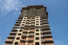 Construção autônoma do multi-andar sob a construção fotografia de stock royalty free