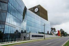 Construção BC na universidade de Deakin fotografia de stock