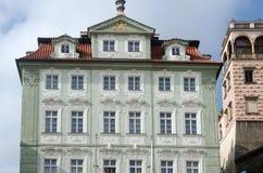 Construção bonita em Prag imagem de stock