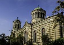 Construção bonita em Sófia, Bulgária Foto de Stock Royalty Free