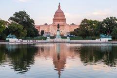 Construção capitala dos E.U. no Washington DC, EUA Fotografia de Stock