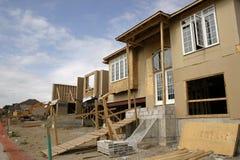Construção - casas do edifício imagem de stock royalty free