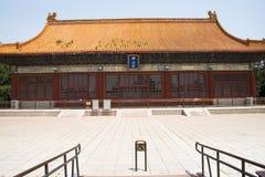 Construção chinesa, antiga asiática, parque de Zhongshan, Zhongshan Salão Fotografia de Stock