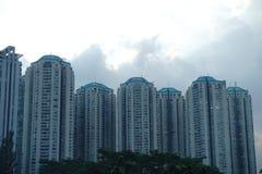 Construção, cidade e arquitetura Imagens de Stock