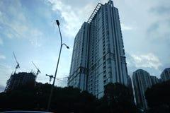 Construção, cidade e arquitetura Imagens de Stock Royalty Free