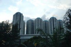 Construção, cidade e arquitetura Foto de Stock Royalty Free