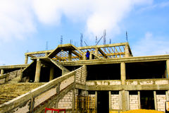 Construção civil da atividade exterior Fotografia de Stock Royalty Free