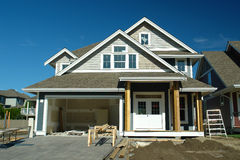 Construção civil da casa Imagens de Stock Royalty Free