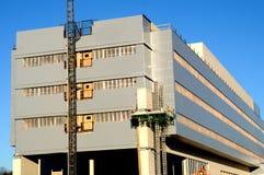 Construção civil do hospital Fotos de Stock Royalty Free