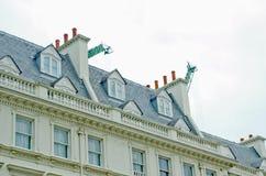 Construção civil na cidade Imagens de Stock Royalty Free