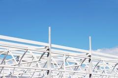 Construção civil, projeto moderno Fotografia de Stock