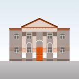 Construção clássica com colunas Imagens de Stock