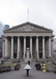 Construção clássica neo da troca real Londres fotos de stock